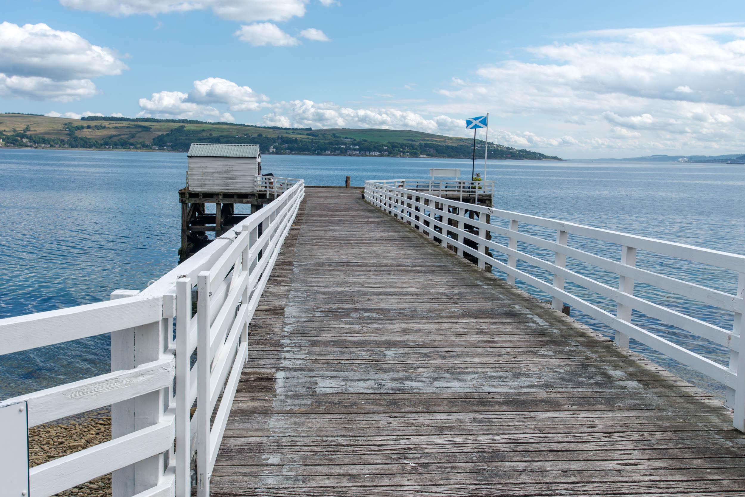 Blairmore Pier, Loch Long