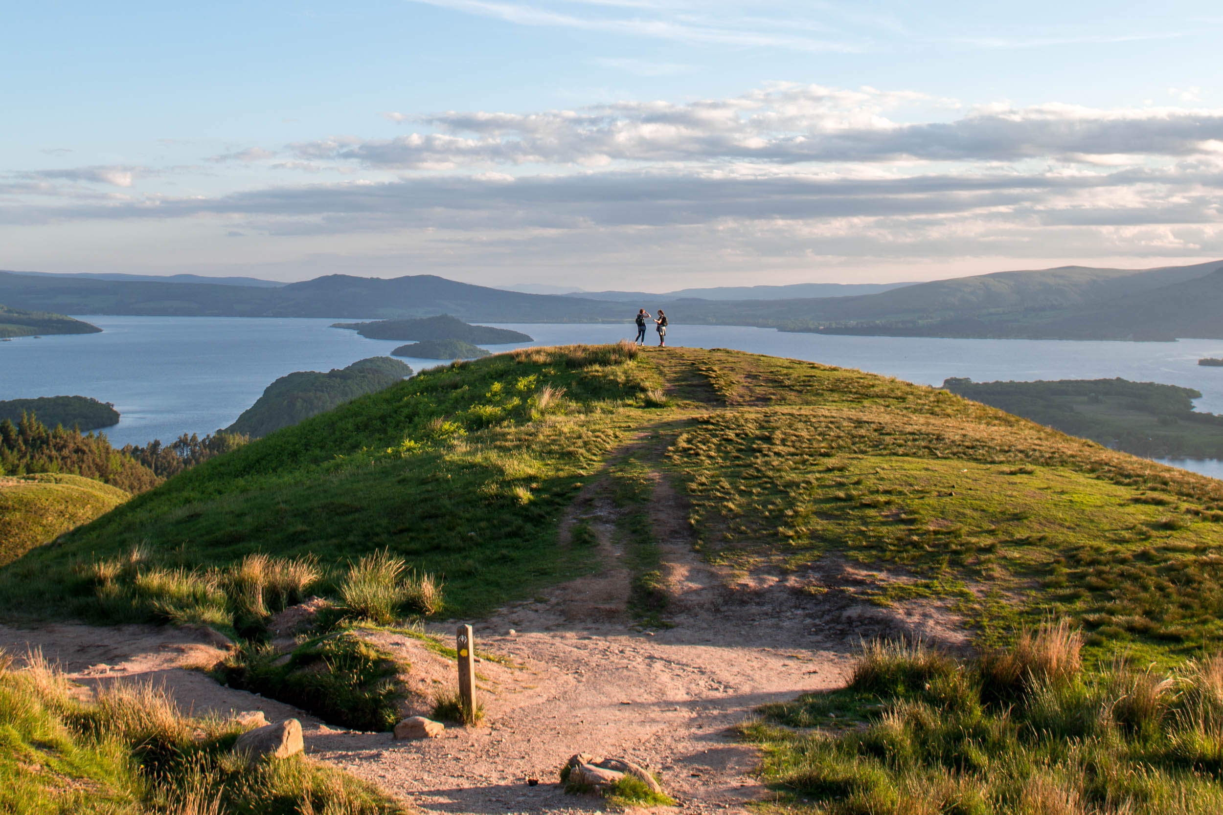 Conic Hill, Balmaha on the West Highland Way