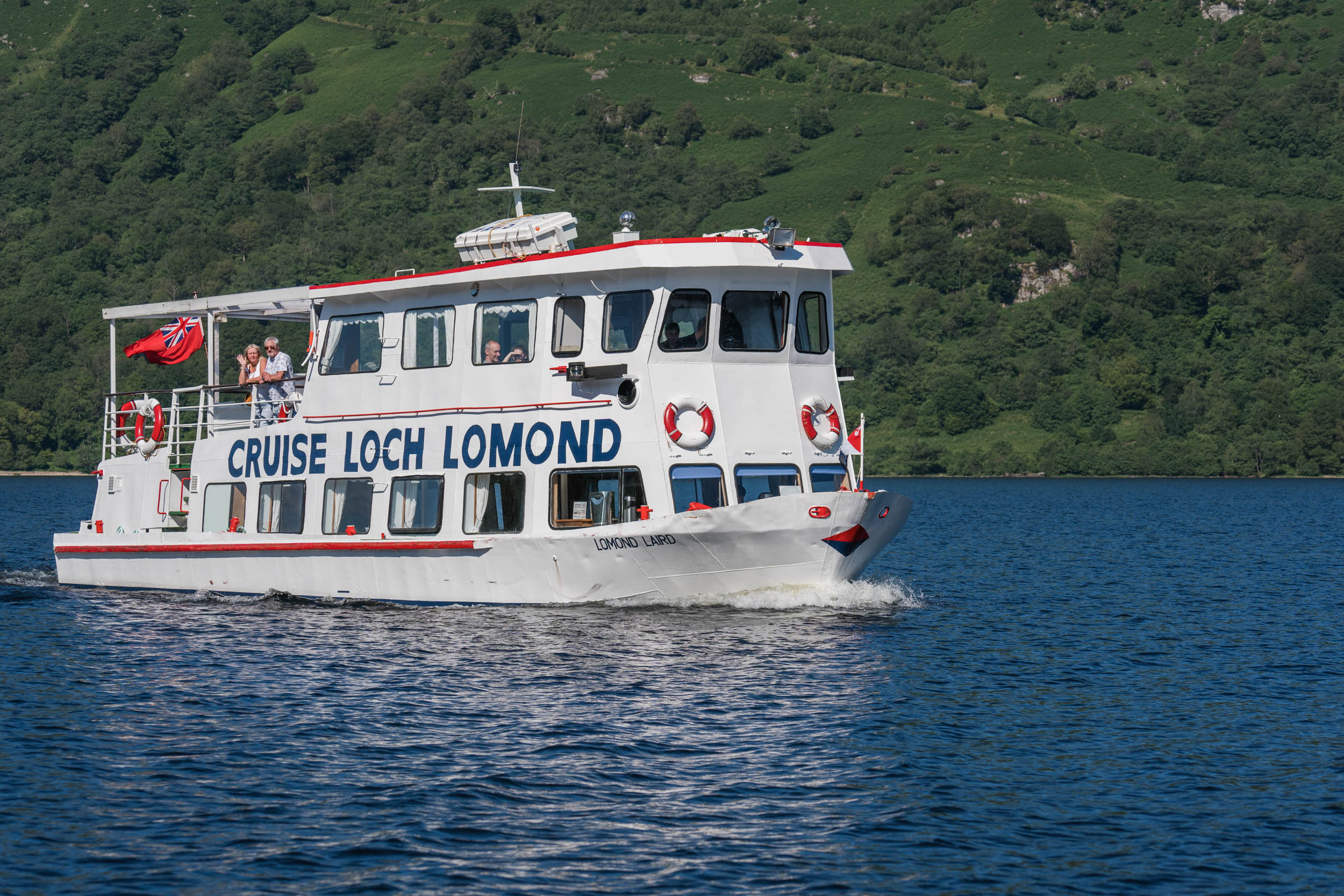 Cruise Loch Lomond, Near Tarbet