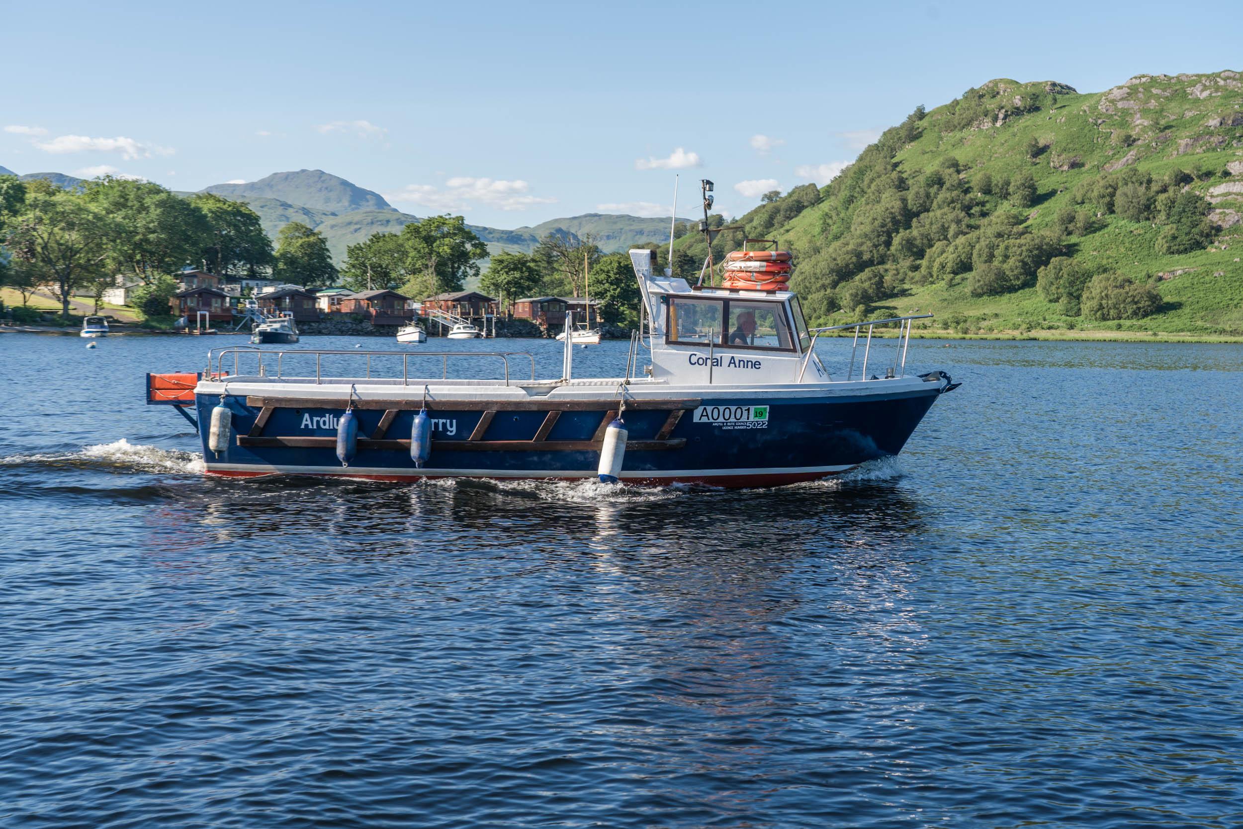 Ardleish to Ardlui Ferry