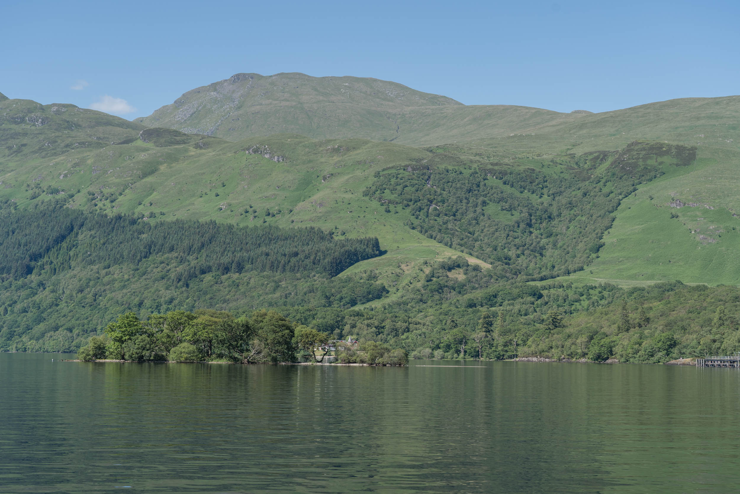 Eilean nan Deargannan, Loch Lomond
