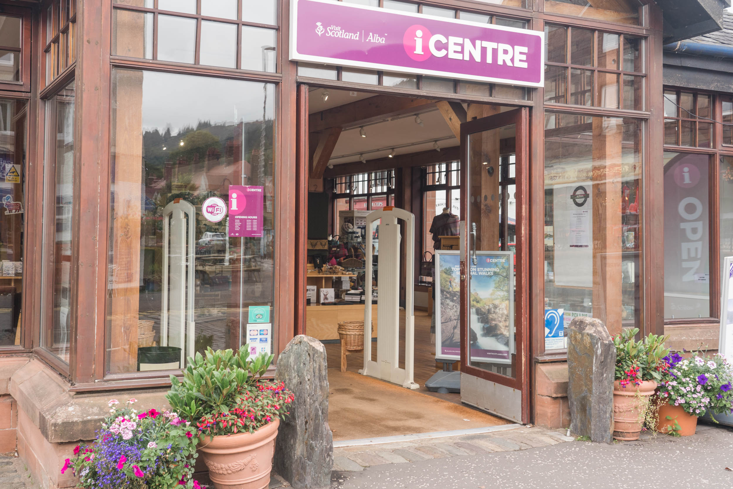 Visit Scotland, I-Centre, Aberfoyle