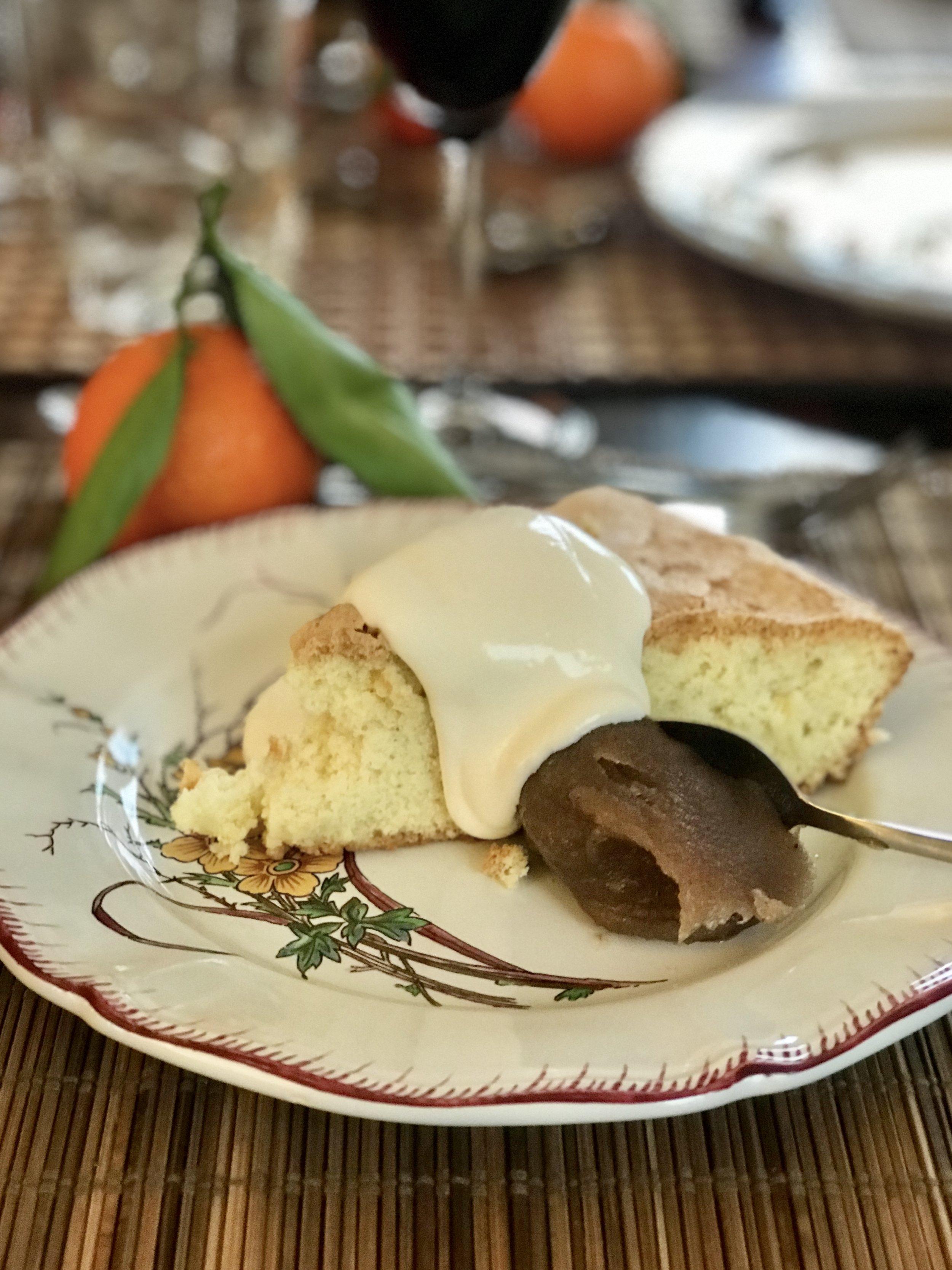 Gâteau de Savoie ... mmmmm
