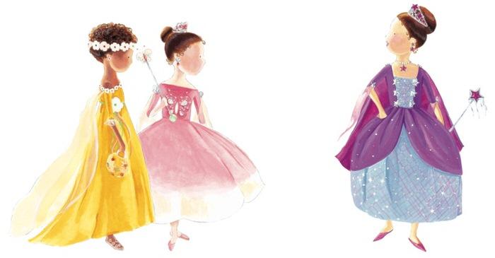 Princesses, 2008, Gouache, 22x40cm.jpg