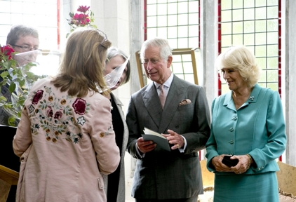 The Rose's History:Prince Charles and the Duchess of Cornwall  - The very first WB Yeats rose was presented to Prince Charles and the Duchess of Cornwall on their visit to Ireland in 2015. A rose was also given to the royal couple for their newborn granddaughter, Princess Charlotte, the Duke and Duchess of Cambridge's second child.