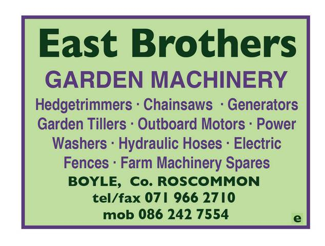 East BrosGarden Machinery -