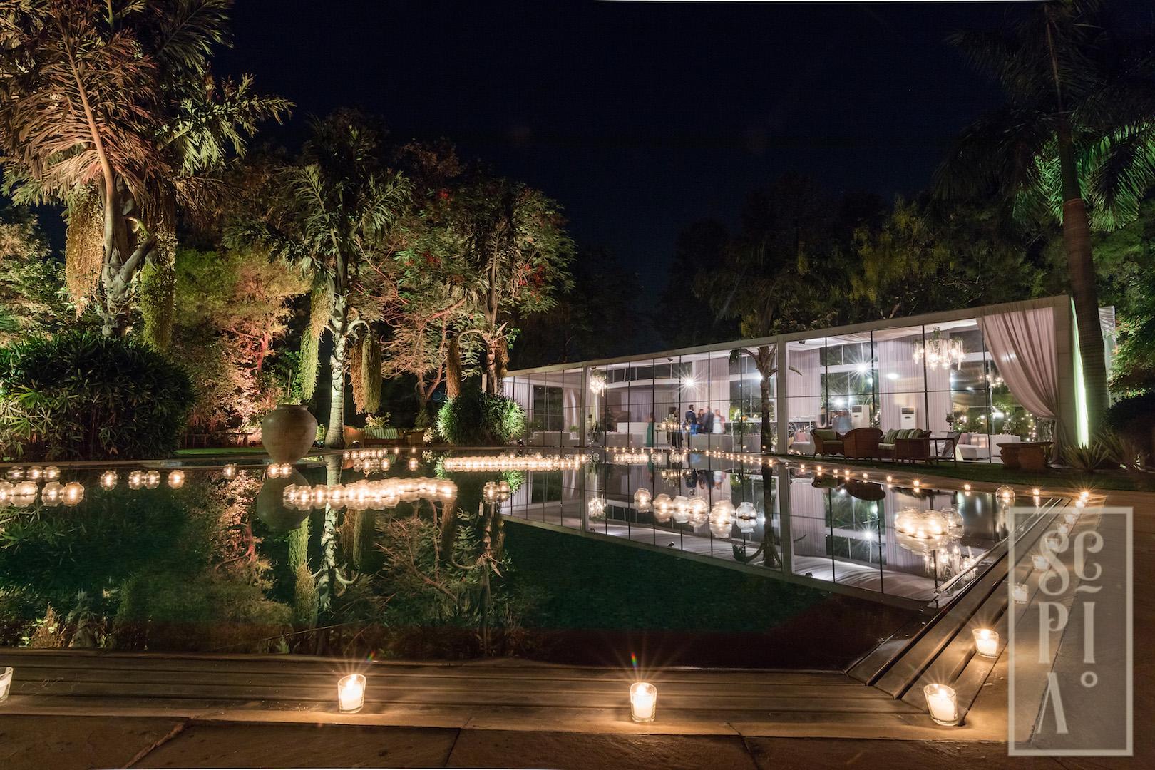 Poolside Reception -