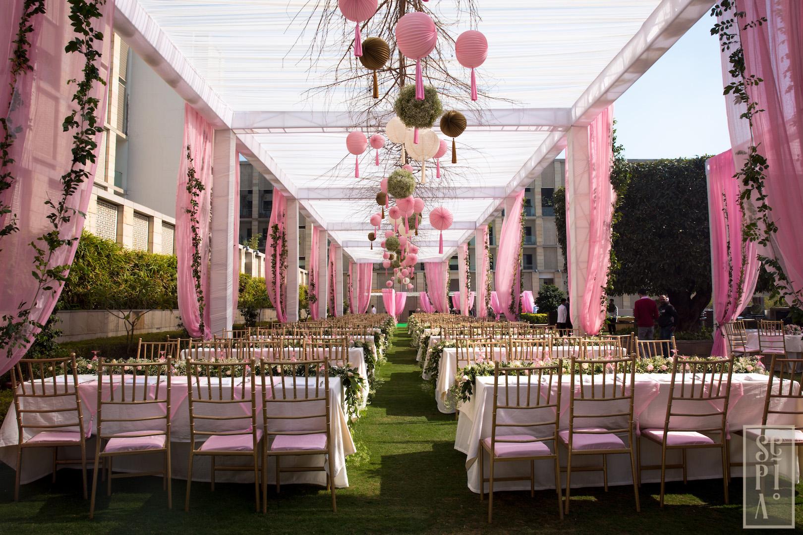 Pink Sangeet -