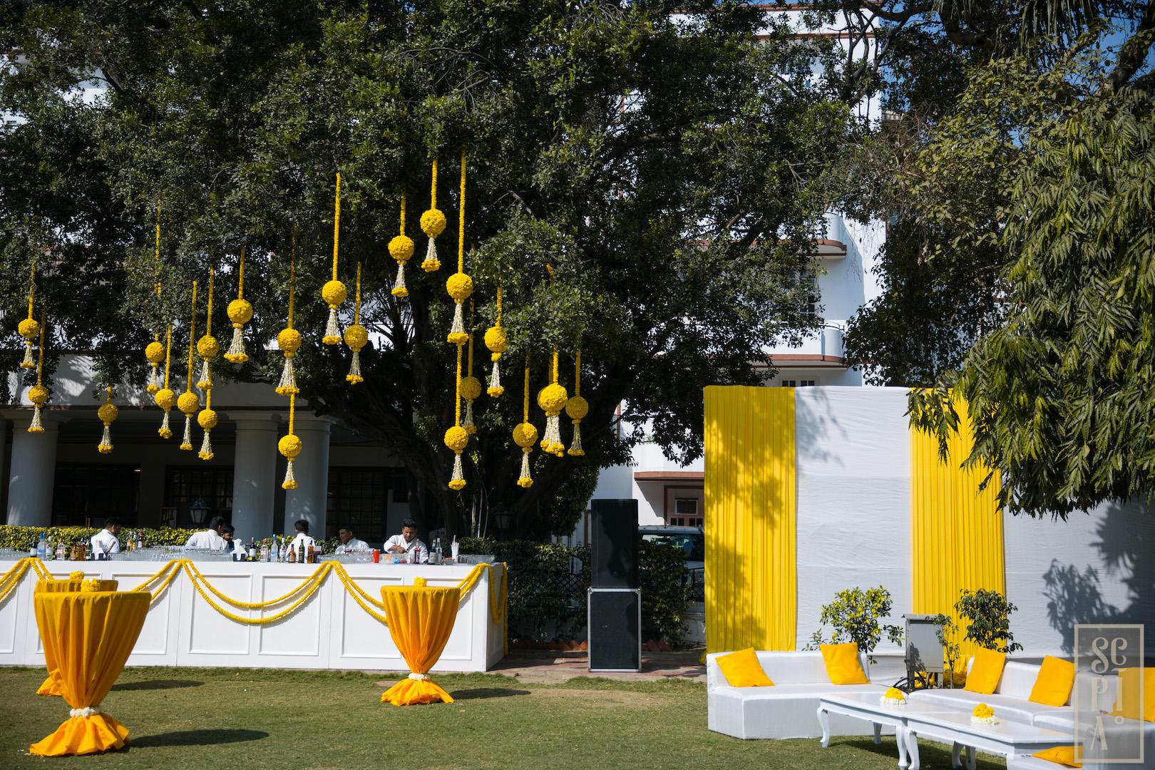 Yellow Mehendi -