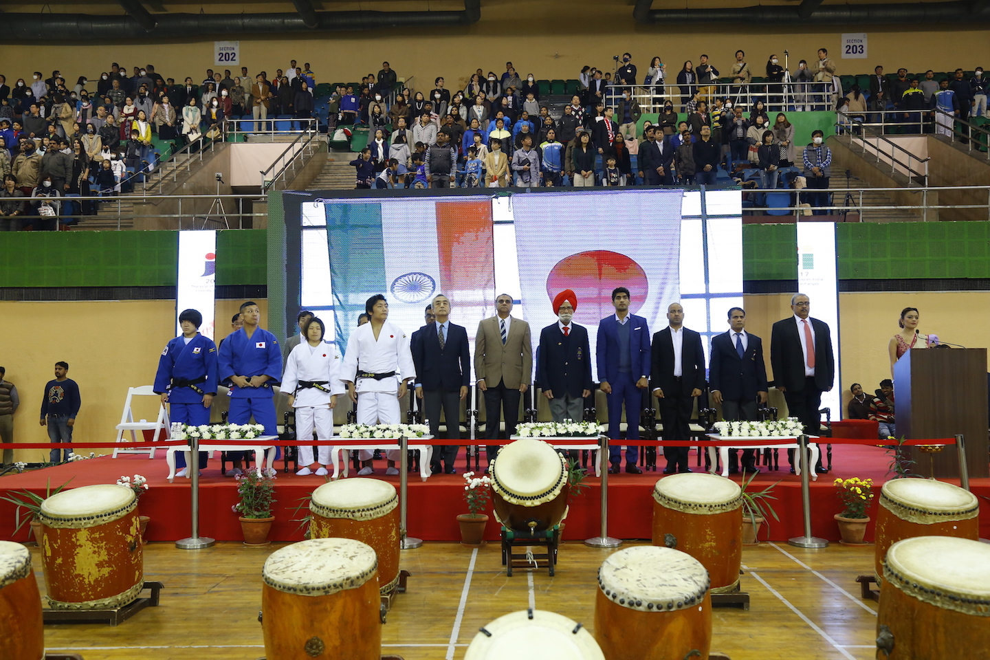 India Japan - Cultural Sports Exchange