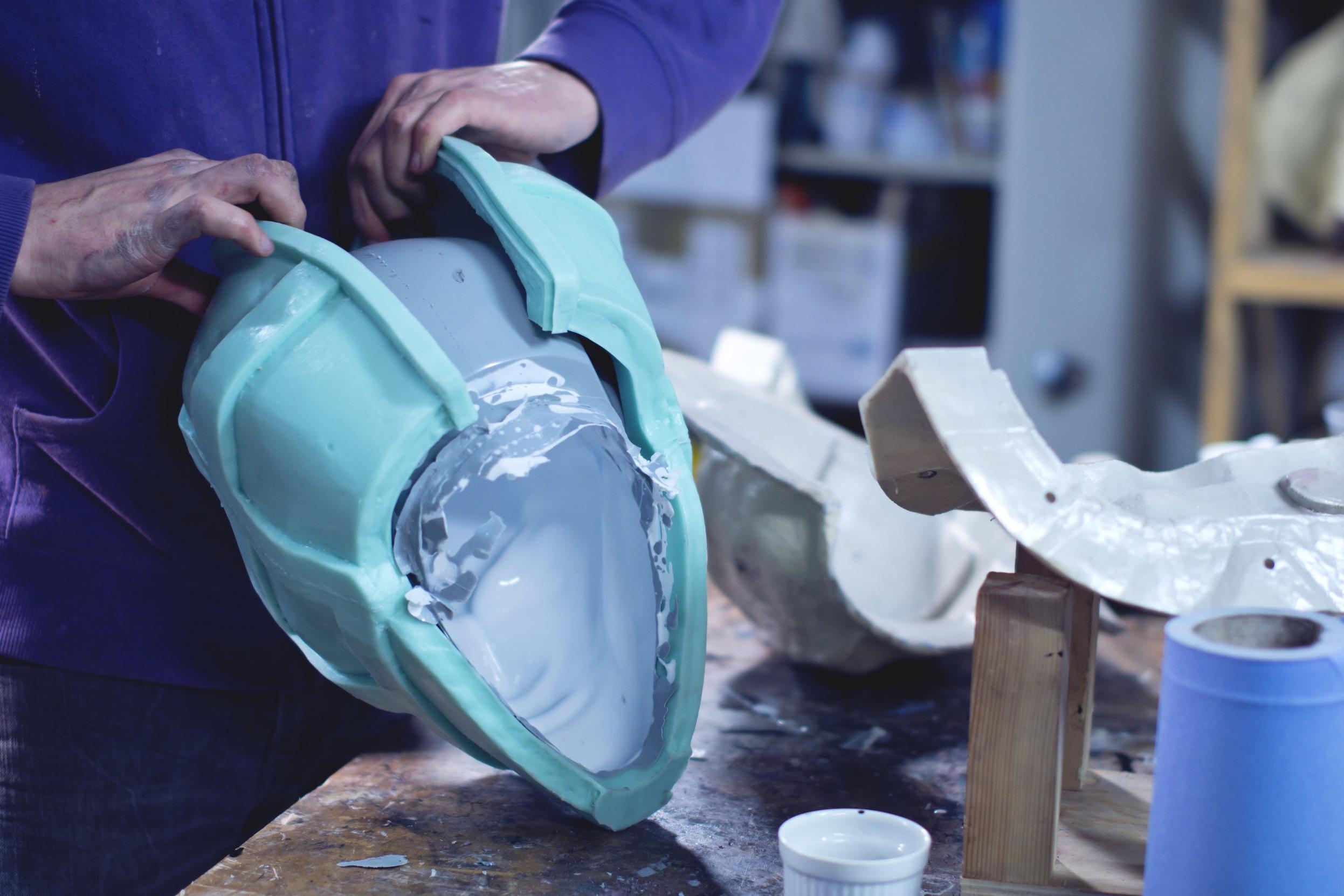 Helmet Mold -