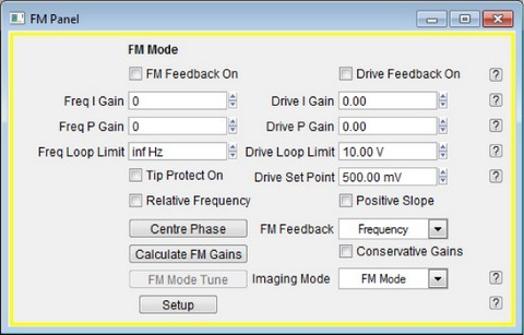 Figure 1  : The software interface for Digital FM