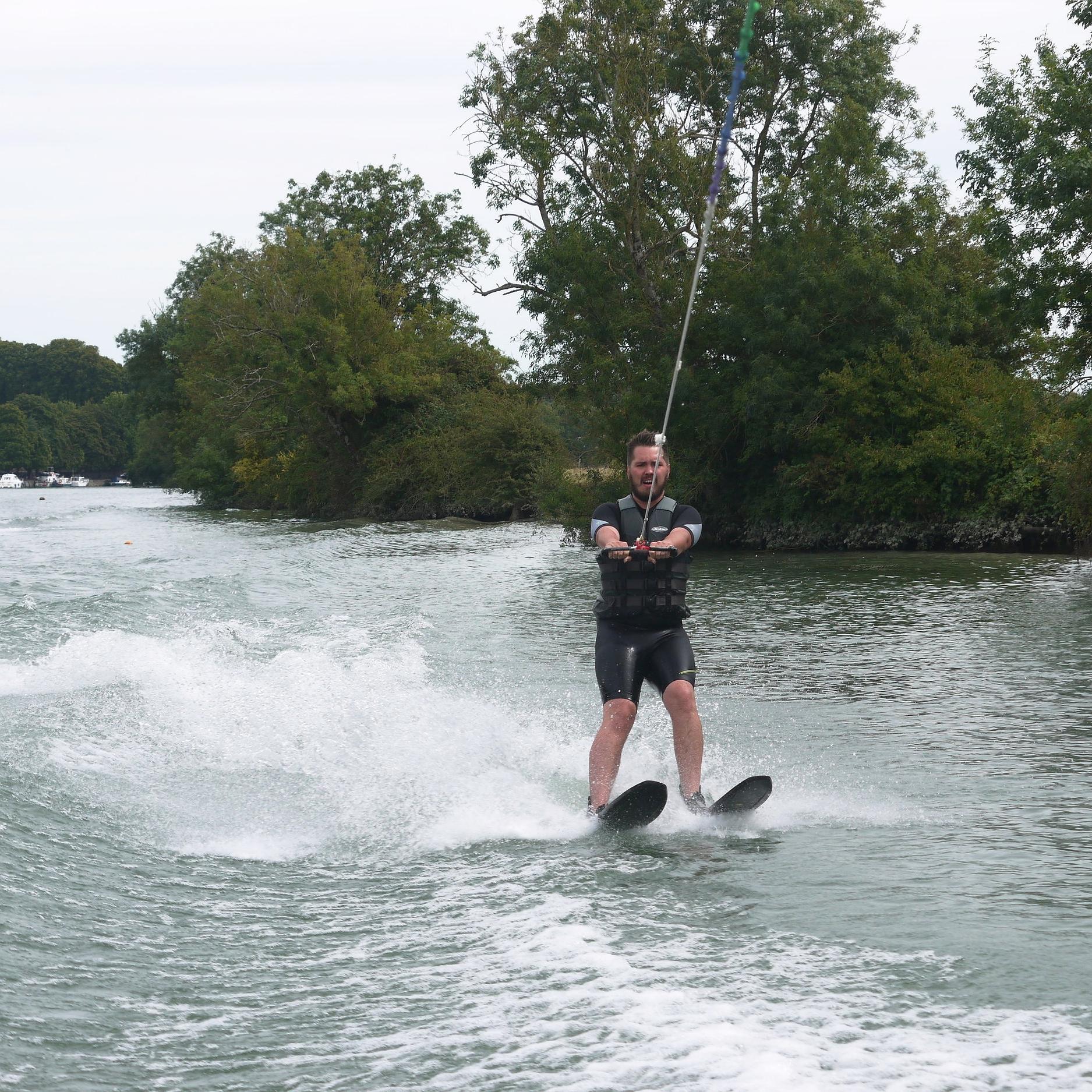 Water skiing -
