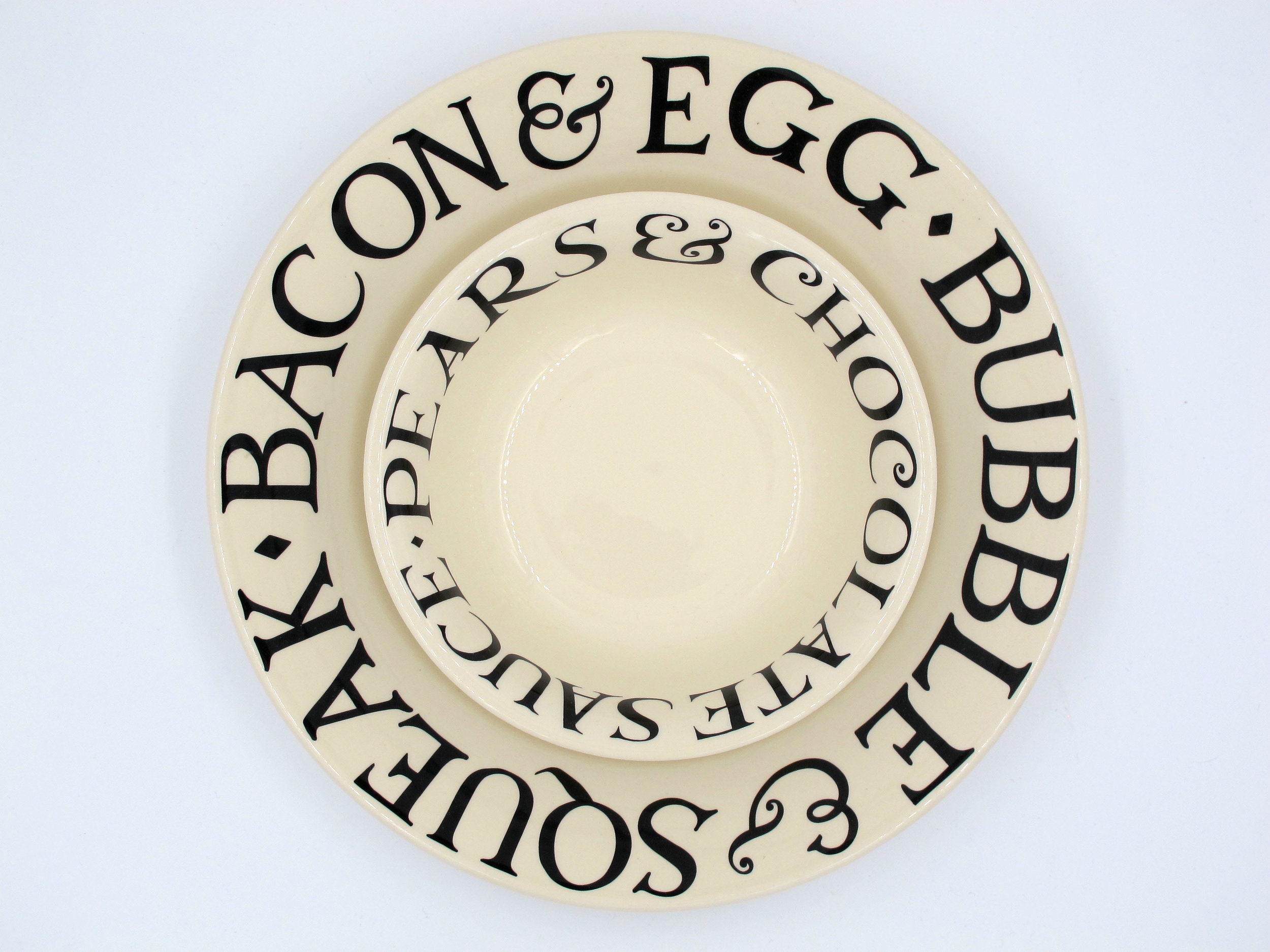 We stock a large range of Emma Bridgewater pottery and homeware.