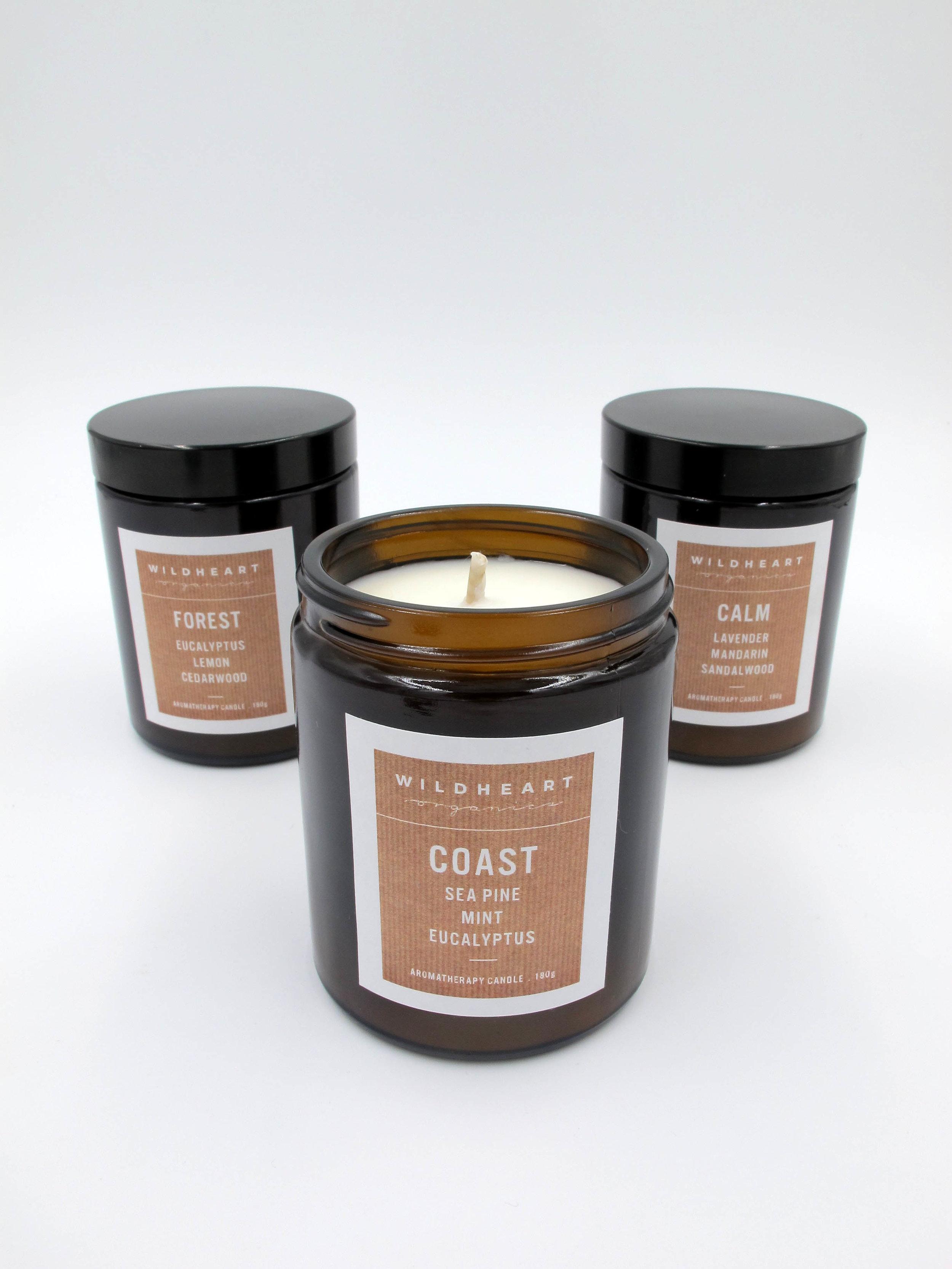 Wildheart Organics Natural Soy Candles
