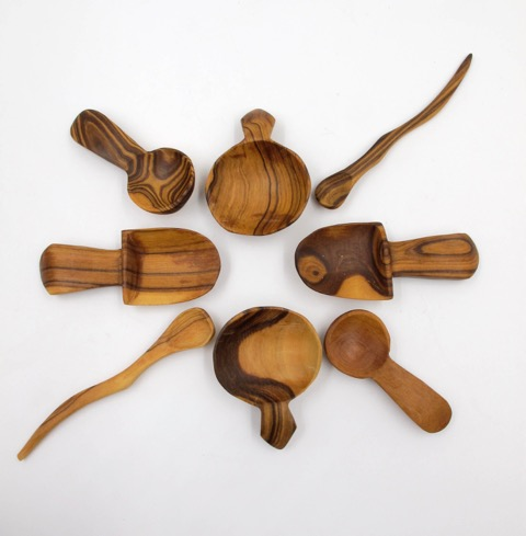 Hand carved wooden spoons from Rader