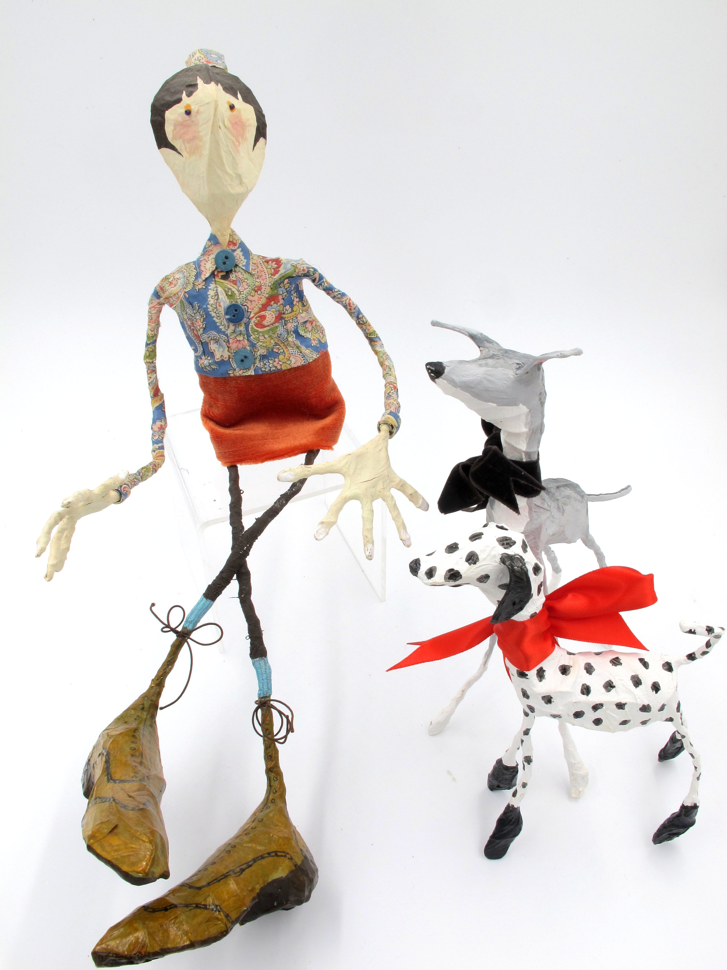 Joanna Coupland paper sculptures, made in Yorkshire