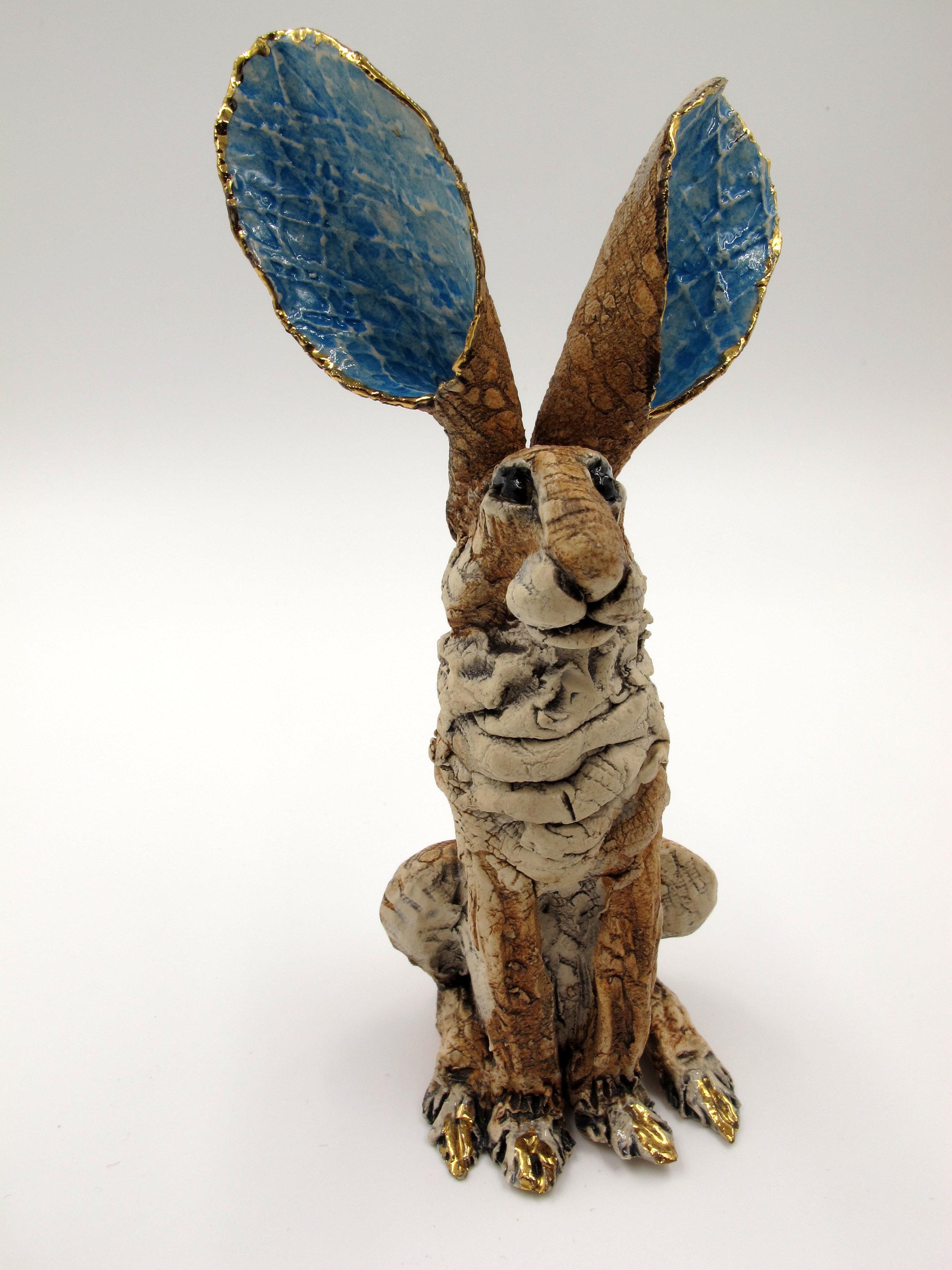 Ceramic sculpture by Gin Durham