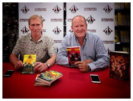 Steve Jackson and Ian Livingstone