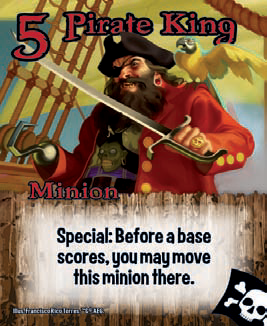 Special: Most abilities happen when you play a card. Special abilities happen at unusual times or in unusual ways. Special abilities might be on a card already in play or held in your hand. A card's ability will describe how it can be used. If you use a Special ability to play a card on your turn, it doesn't count as one of your free cards for that turn.