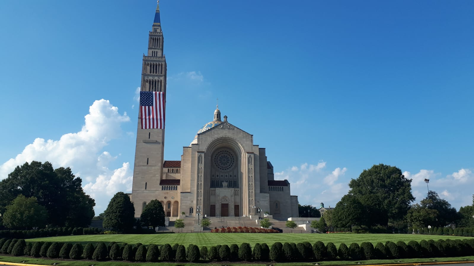 Basilica of the National Shrine of the Immaculate Conception  - Washington, DC.