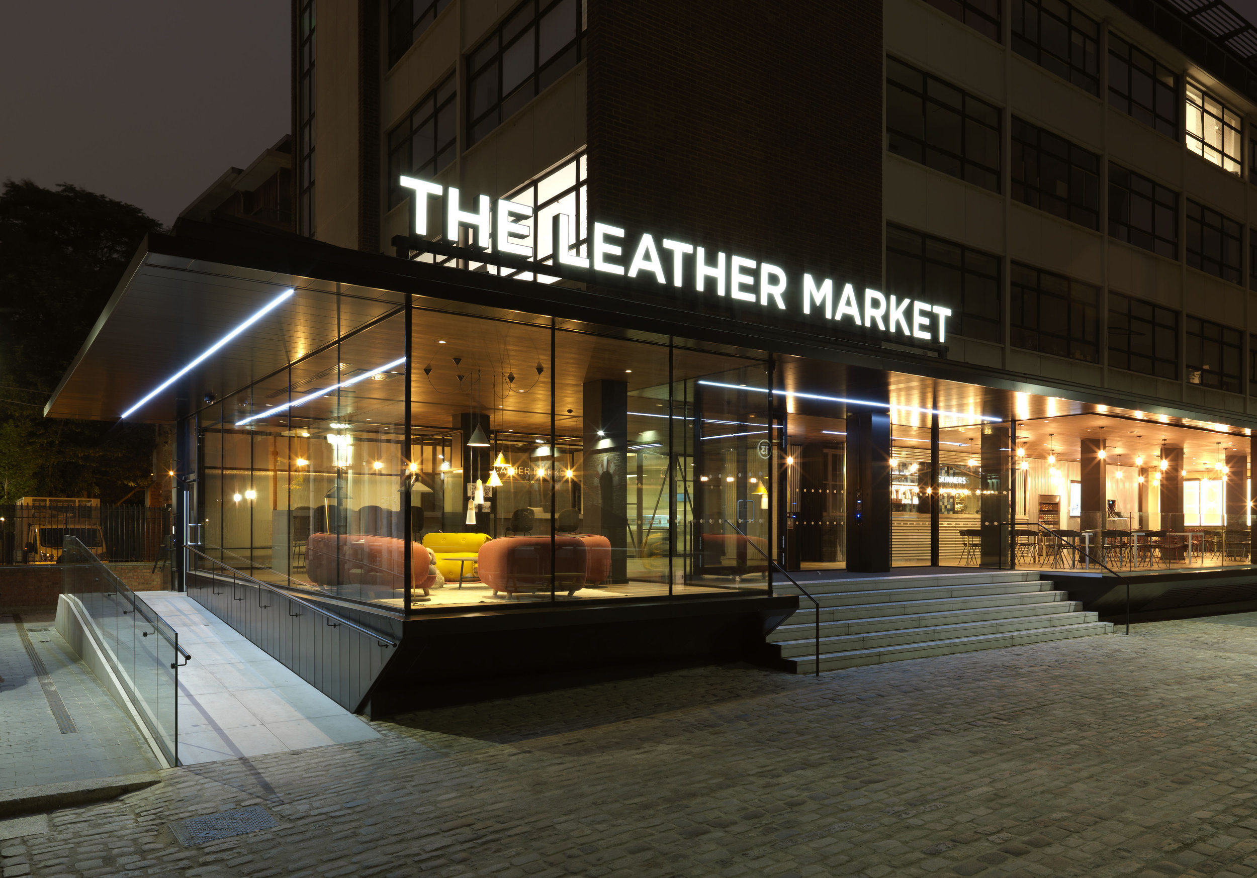 THE LEATHER MARKET   ARCHITECTURE