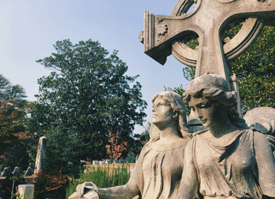 DID YOU KNOW... - Cemetery sculptures are generally unsigned, meaning researchers don't know who created the sculpture.