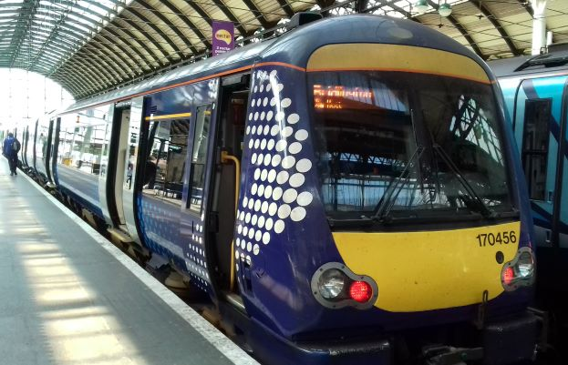 The new class 170 in Hull