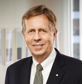 Robert Prichard -Chair, Torys LLP and President Emeritus and former Dean of Law, , University of Toronto