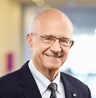 Hon. Frank Iacobucci - Senior Counsel, Tory's; Ret. Justice, Supreme Court of Canada; Provost Emeritus and former Dean of Law, University of Toronto