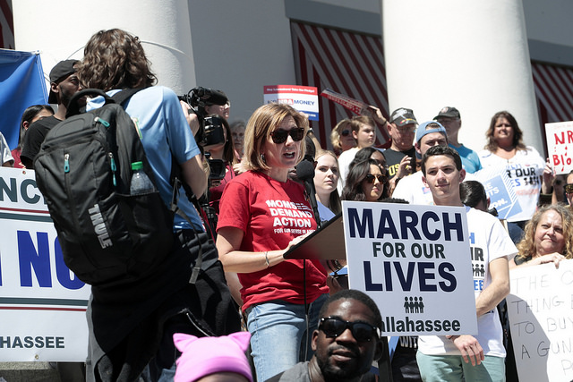 Kate at the March for Our Lives Event in Tallahassee, FL (March 2018)