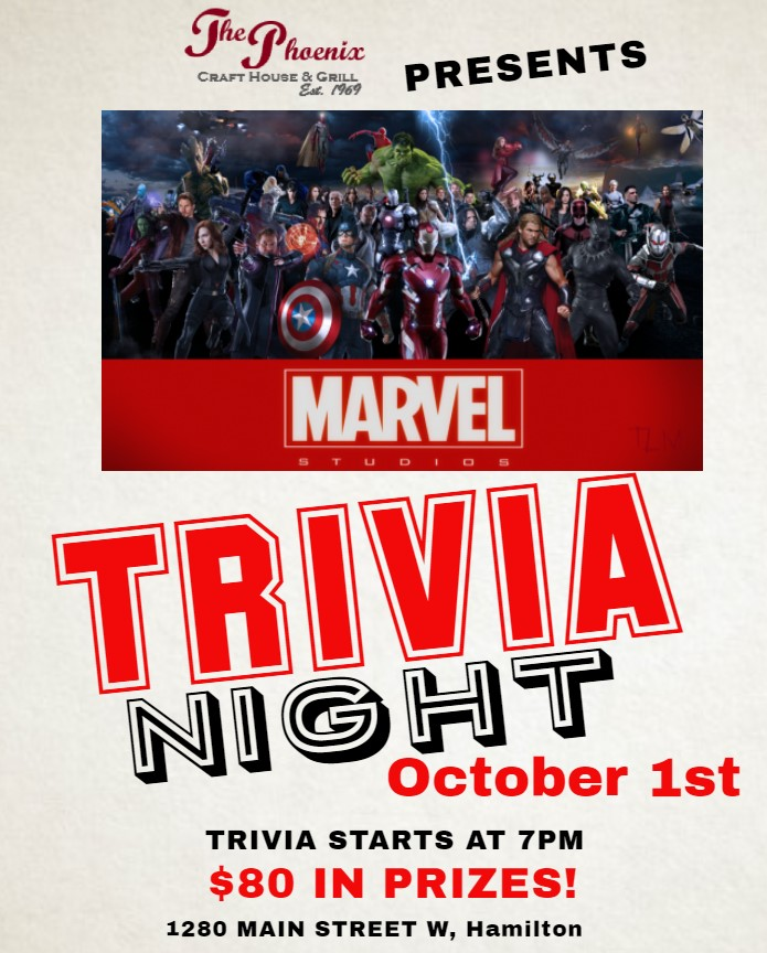 Come dressed as your favorite Marvel Universe Character and win additional prizes!