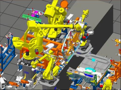 Framer BodySide to Underbody Dash Assembly Navistar B.I.W. Completed by Omaha 2017