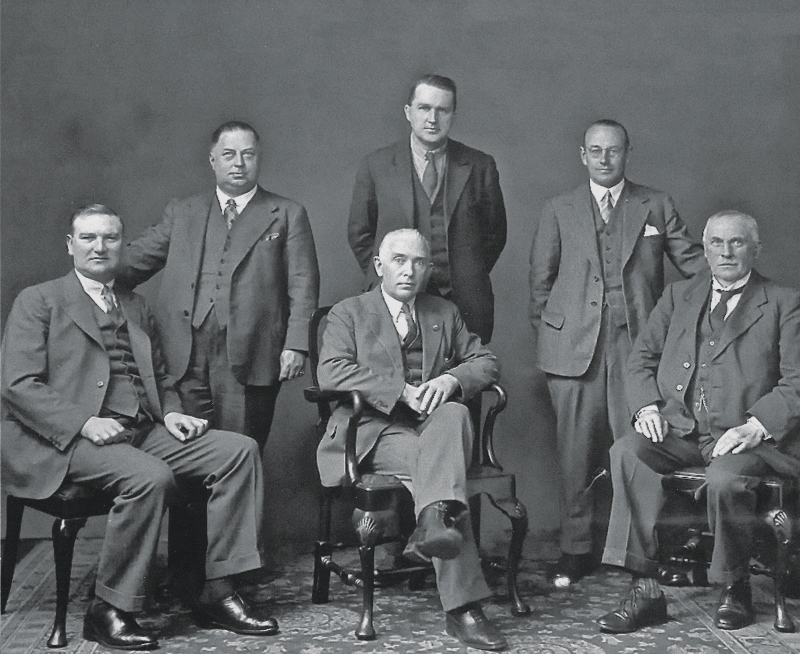 Board of Directors 1934
