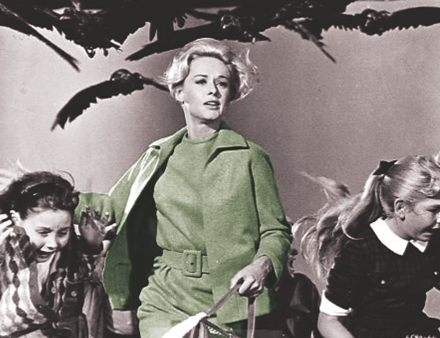 Tippi Hedren & The Birds