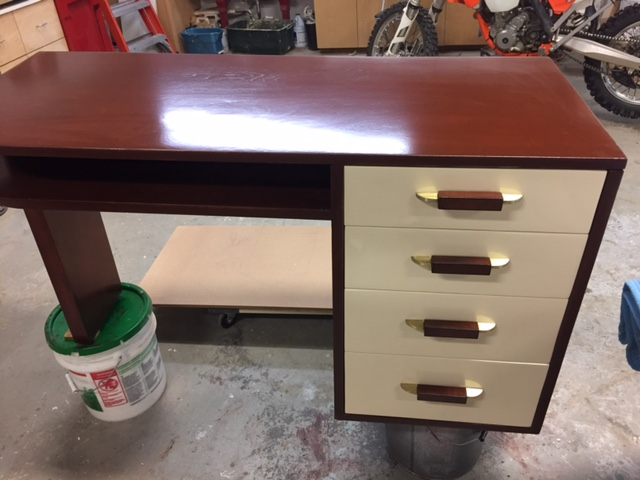 1939 Eliel Saarinen Desk: after restoration