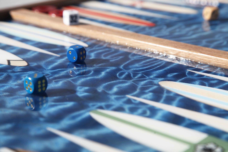 Studio Jean-Michel Backgammon
