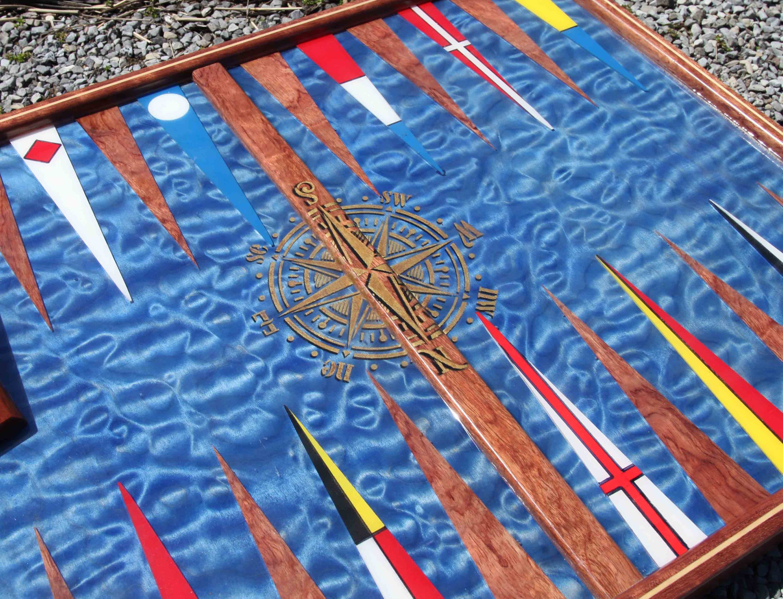 Nautical Boards — Studio Jean-Michel Backgammon