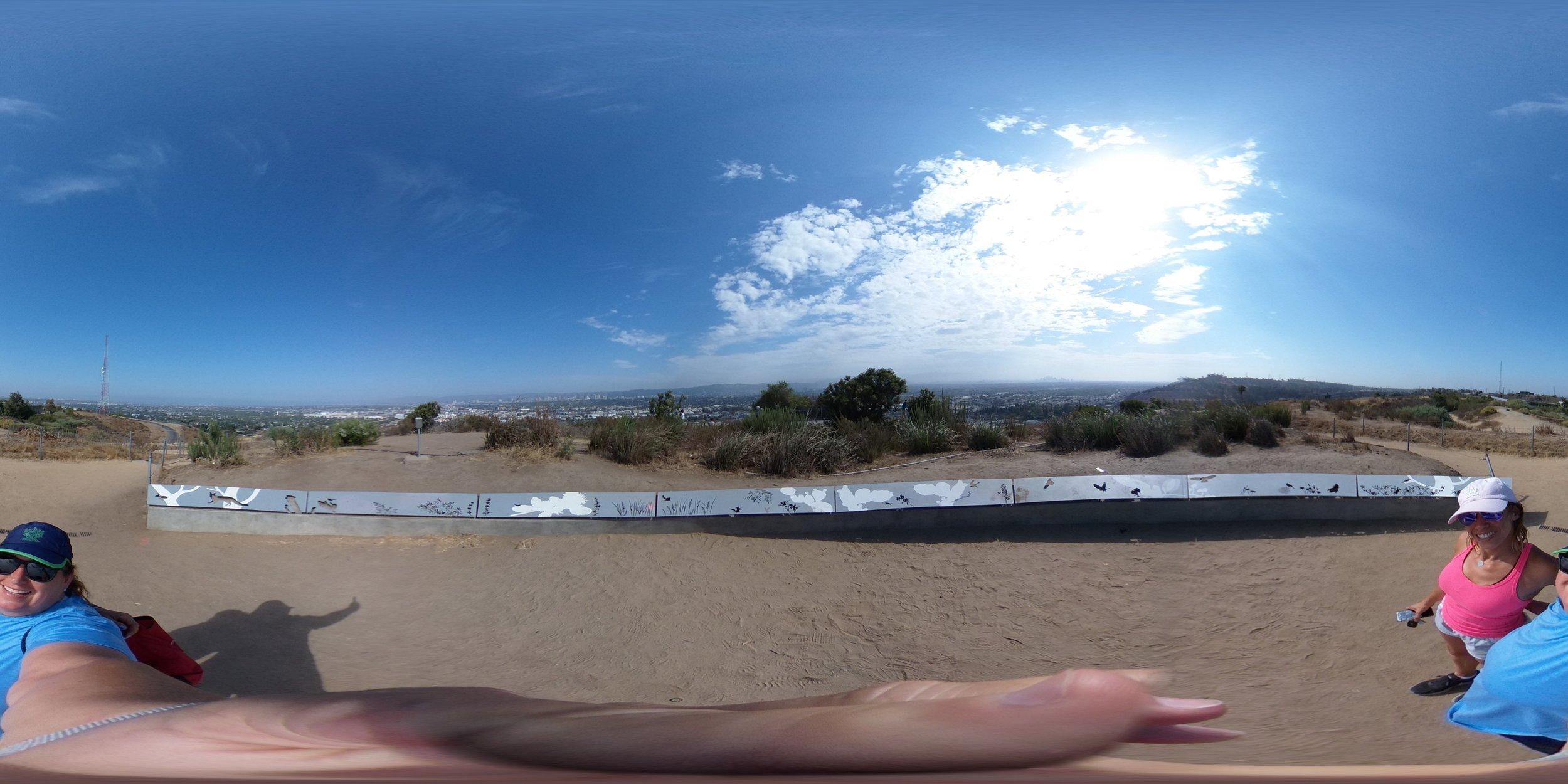 Same photo as above in it's equirectangular format