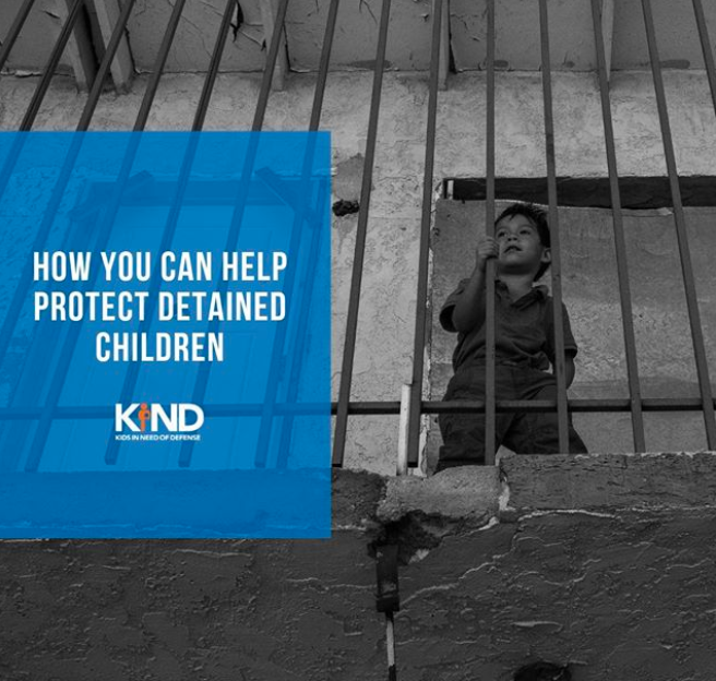 Kids In Need of Defense (KIND) - CLICK HERE TO LEARN MORE >