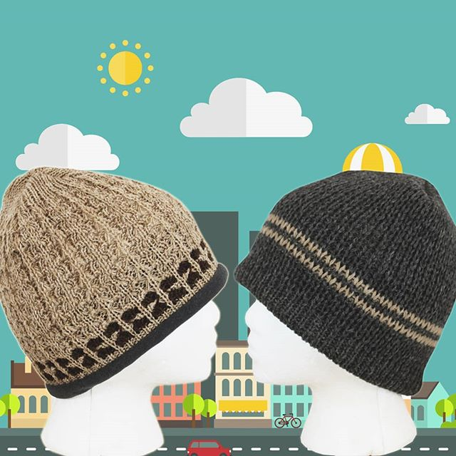 Our best selling Classic Stripe and Tuckerman Alpaca Hats are back in stock in all color combinations! The densely hand knit alpaca outershell & soft polar fleece inner band lining will keep you warm and cozy while looking sharp. Both of these hats are the perfect blend of functionality and style, U.S. Alpaca hats for the modern outdoorsman.  #alpaca #usalpaca #naturalfibers #madeinusa #alpacalife #neafpco #winterscoming