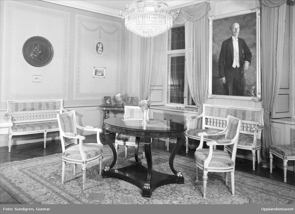 Kom och ät brunch i vårt mysiga nationshus! Bilden föreställer nationens rum Absiden och är tagen 1937.   Bildkälla