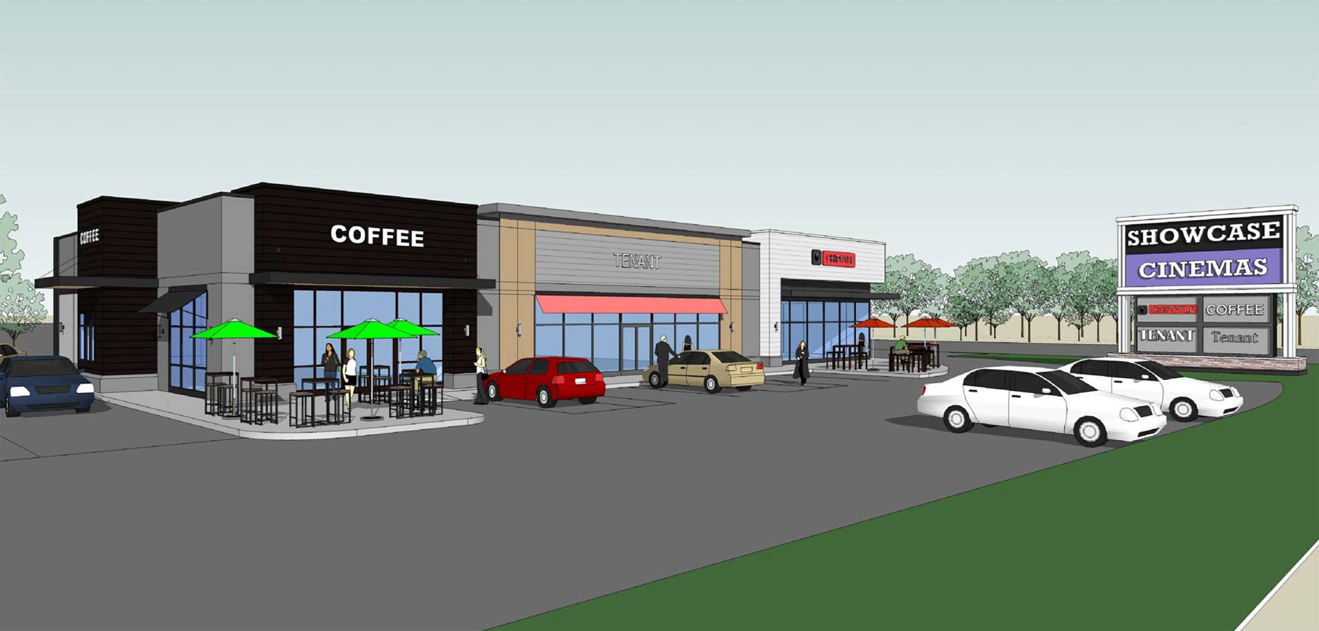 Location:    Warwick, Rhode Island  Size:  1,650 SF - 3,450 SF divisible