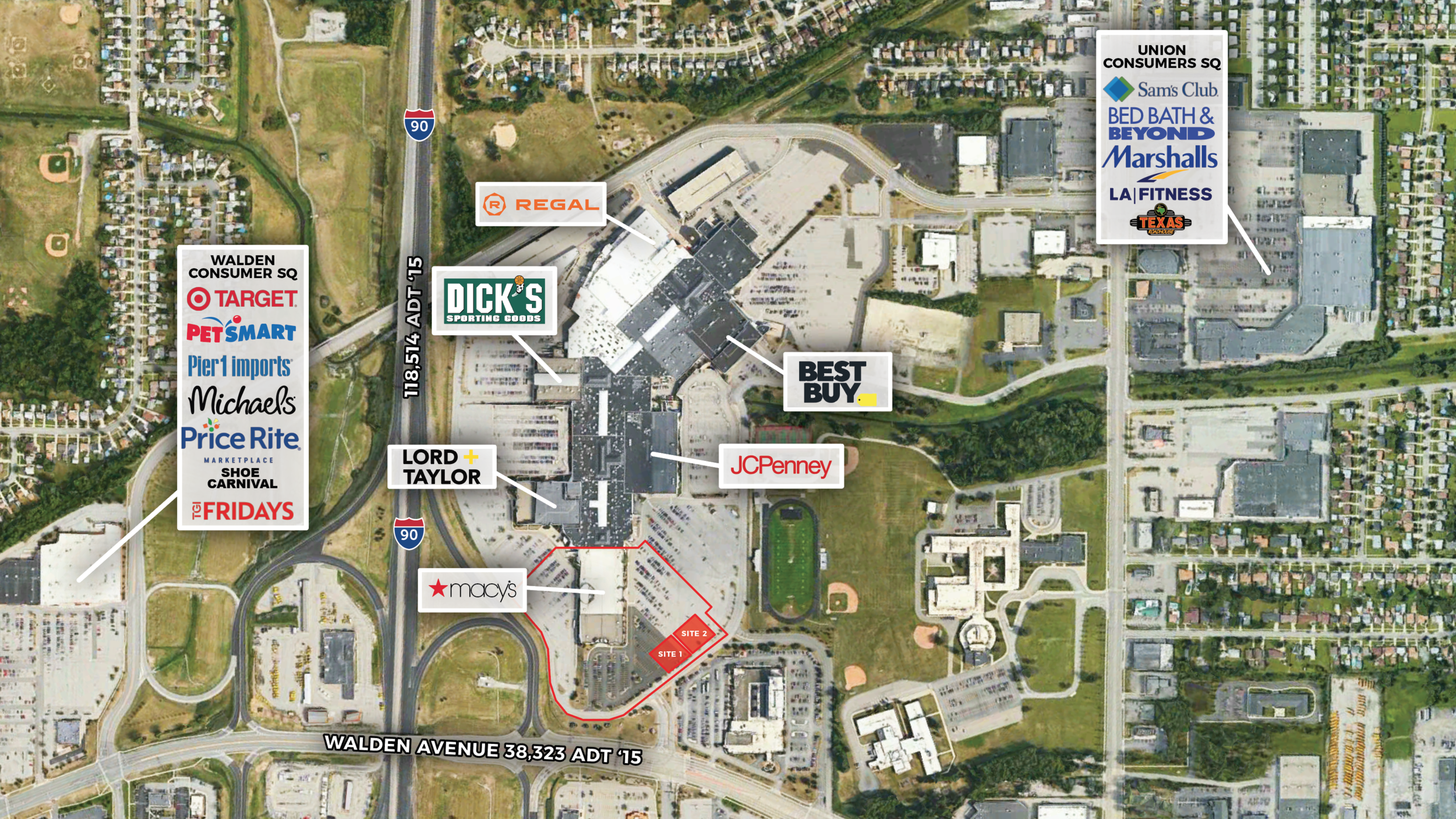 Location: Cheektowaga, New York Size: 52,600 SF