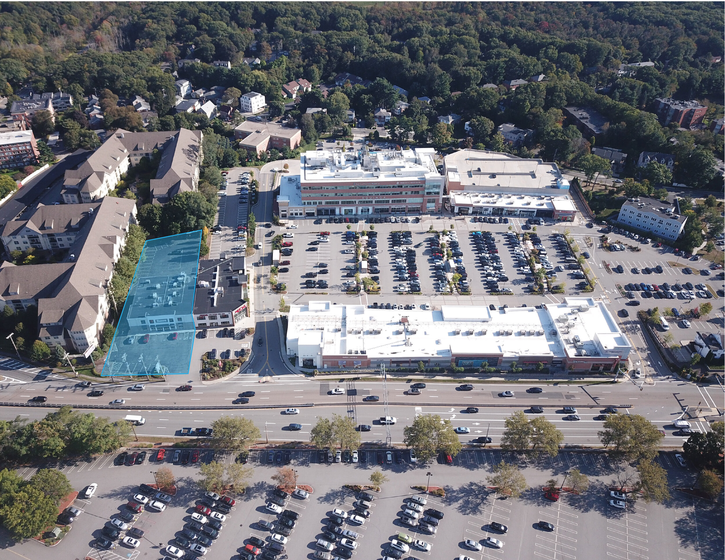 Location: Chestnut Hill, Massachusetts Size: 19,572 SF Multi-level Building | 0.94 Acre Parcel