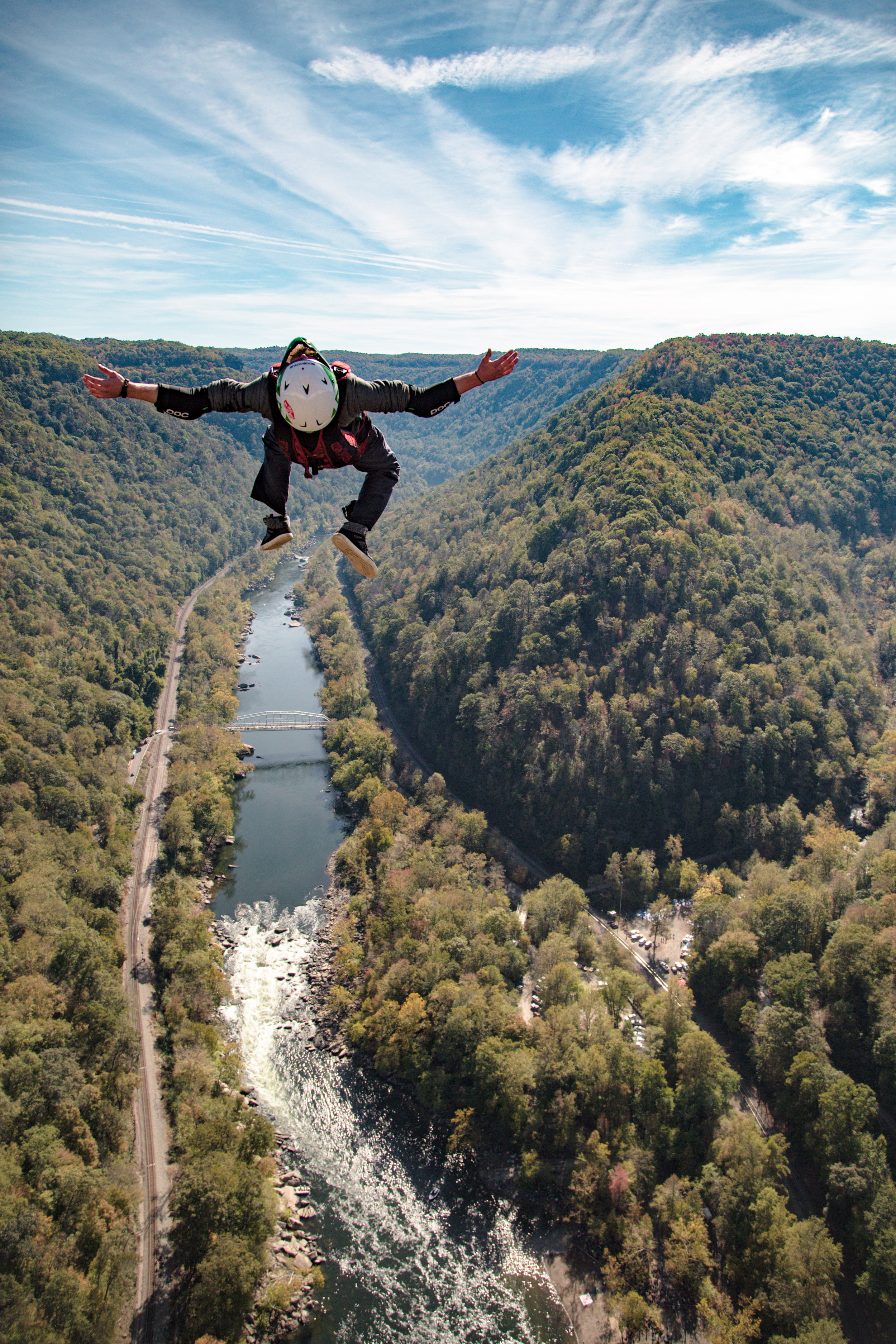 BASE Jumping - Ready to take the leap? Learn more about BASE jumping on Bridge Day!