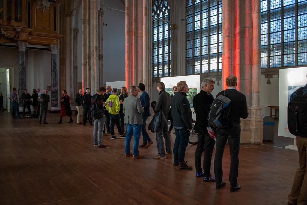 De eerste Bicycle Architecture Biennale stond voor de laatste keer tentoongesteld in de Eusebiuskerk in Arnhem.