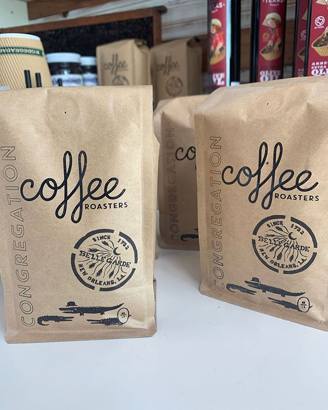 We are proud to work with partners who share our passion, beliefs and values when it comes to producing the best quality for our customers. That's why we work with @congregation_coffee - they've created a two-part custom blend for the bakery! ⠀⠀⠀⠀⠀⠀⠀⠀⠀ Congregation mixes two single origin coffees, each first roasted separately for its unique characteristics, one natural process Brazilian coffee from producer Ricardo Tavares and one washed Colombian, from the El Mirador farm. After roasting, the coffees are mixed and brewed together to create a nutty, smooth and molasses-y sweet flavor profile that make us all happy! ⠀⠀⠀⠀⠀⠀⠀⠀⠀ Grab a cup of Congregation or a bag of our custom blend beans at the bakery Tues – Sat (8 am - 3 pm!) #Bellegarde ⠀⠀⠀⠀⠀⠀⠀⠀⠀ #wherenolaeats #eaternola #eatingnola #nolafoodie #nolafoodiegram #evieeats #joythebaker #nolaeats #BRfoodies #eatbatonrouge #nomnola #thisisnola