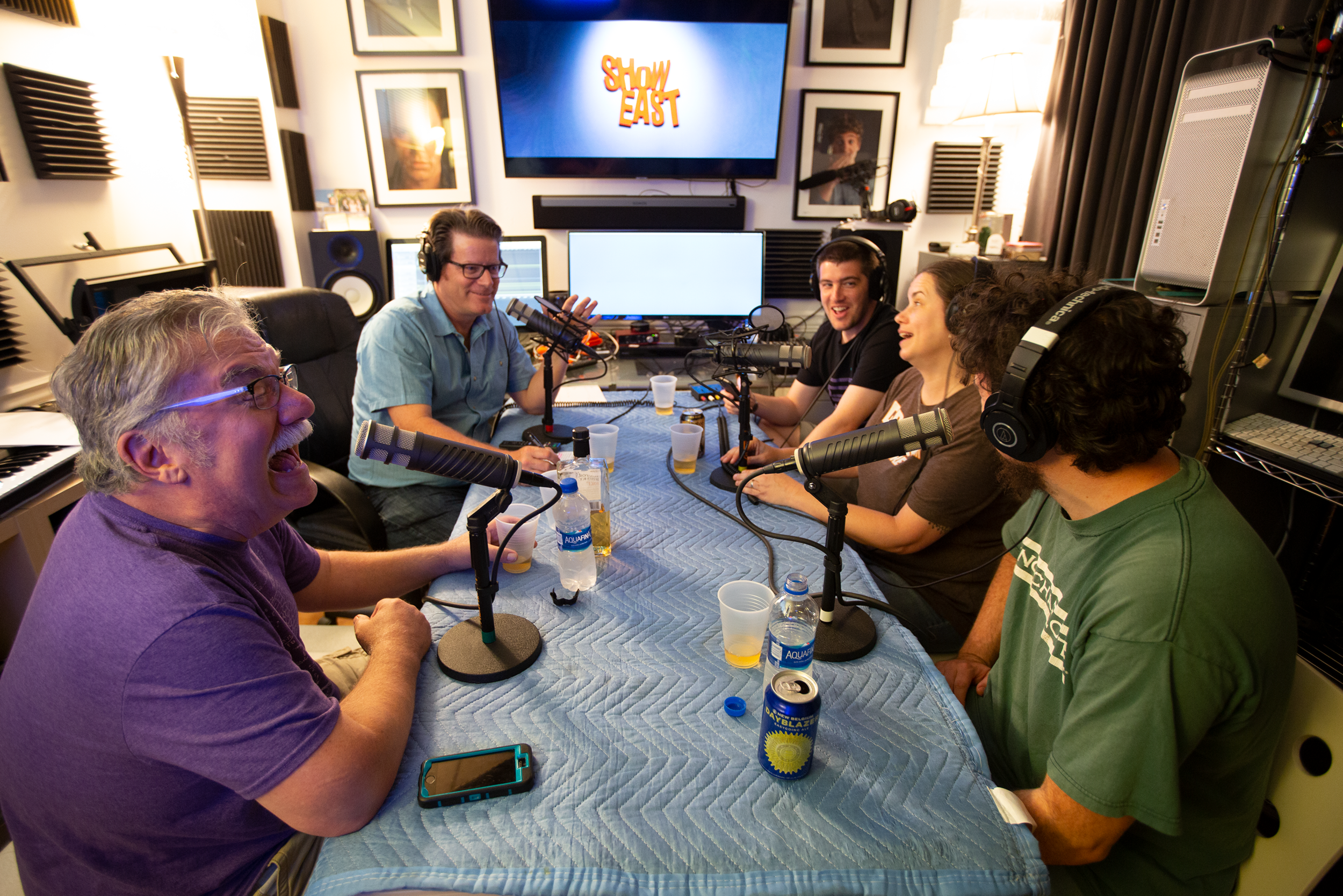 The crew of Adult Beverage Podcast talk about films new and old.