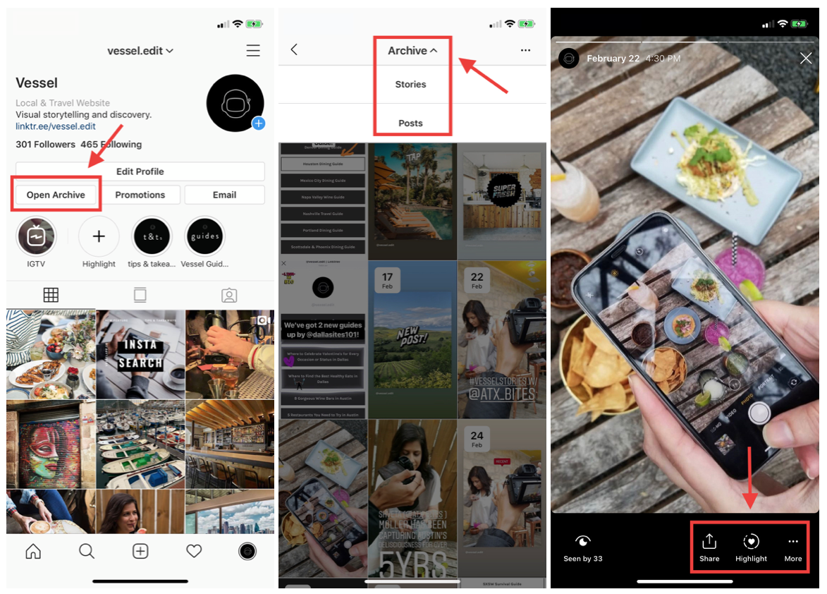 Instagram Stories (iOS)